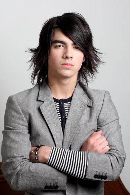 Joe Jonas at the portrait session in Chandler's Cross.